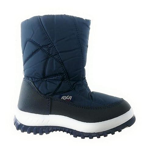 Axa Shoes Berto Neve Blu Bambino Colore Doposci Da Stivali IH9D2WE