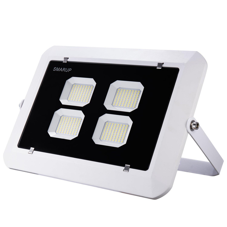 SMARUP 200W LED Flood Light,110V Outdoor Led Flood Light with 360degree Adjustable Bracket Water Proof