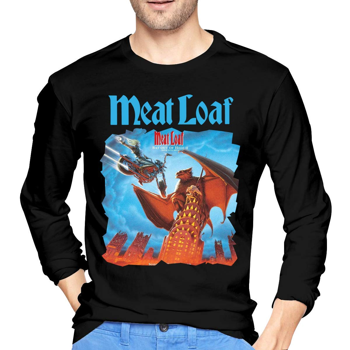 Fssatung S Meat Loaf Back Into Hell T Shirt Black