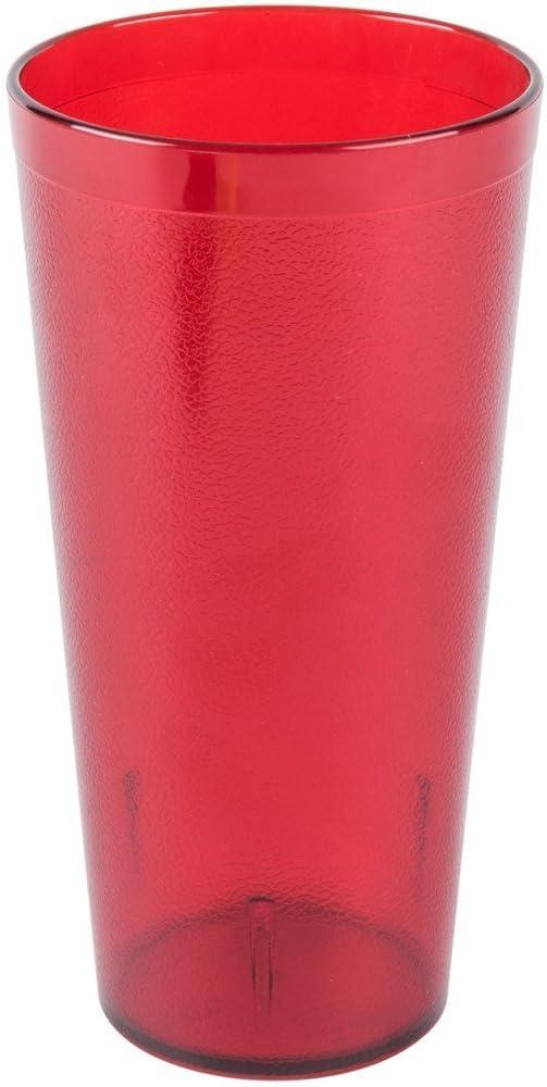 6 Coke Coca Cola Restaurant Ruby Red Plastic Tumblers Cups 20 oz New Lot