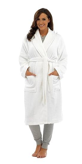 Hommes Luxe 100/% /éponge coton Peignoir Robe De Chambre Enveloppant Pyjama HT566 Hooded Grey Medium // Large