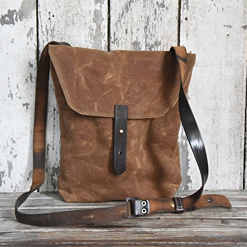 The Hunter Satchel in Spice by Peg and Awl