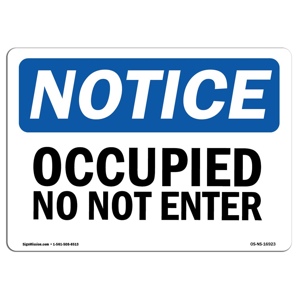 Viro Vacant//Occupied Sliding Door Sign Green // Red Edition