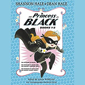The Princess in Black, Books 1-3 Audiobook