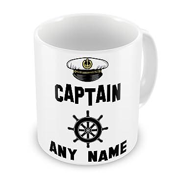 Gift Mugs PCANNGM - Taza personalizada, diseño marinero.: Amazon.es: Jardín