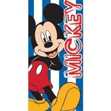Disney- Toalla de playa/piscina de Mickey Mouse para niñas/niños (70cm x 140cm/Azul): Amazon.es: Hogar