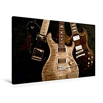 Renate Bleicher Premium - Lienzo para Guitarra eléctrica (90 x 60 cm ...