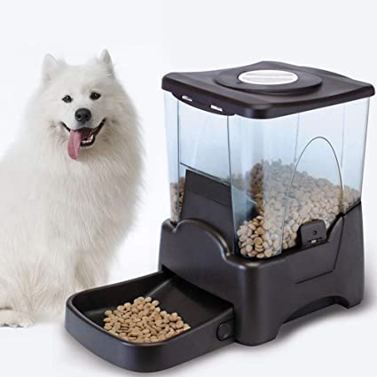 Amazon.com: Automatic Pet Feeder with Timer - Auto Timed Dog ...
