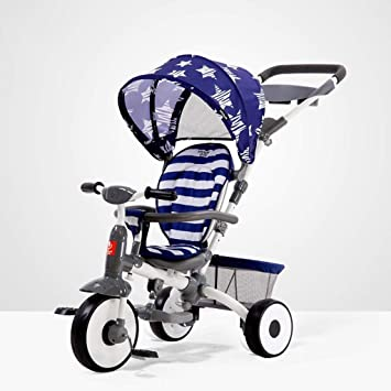 XYQ Carro de bebé-Baby Trolley Ajuste de Respaldo Bicicleta ...