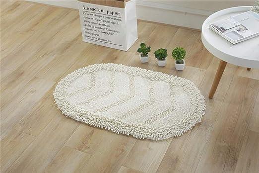 F.Alunsh Nuevo tapete de Cocina Ovalado de algodón para el hogar ...
