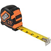 Klein Tools 9225 Tape Measure, 25-Foot Double-Hook Double-Sided Measuring Tape, Magnetic with Retraction Speed Break and…