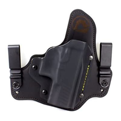 Springfield XD-S 3.3 IWB Hybrid Holster with Adjustable Retention and Comfort Curve, Black Arch Holsters