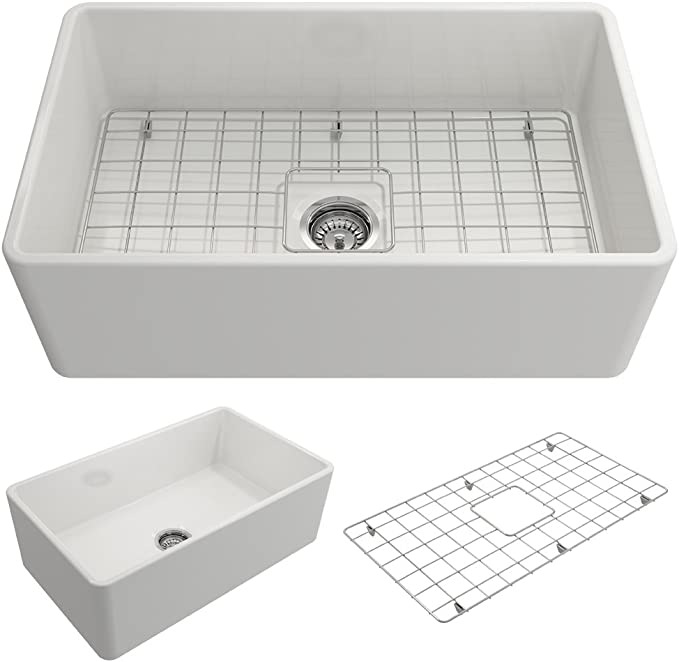 Best Farmhouse Sink: BOCCHI 1138-001-0120