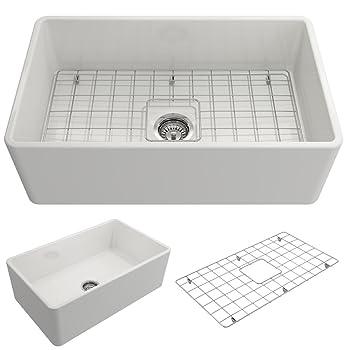 BOCCHI 1138-001-0120 Classico Farmhouse Sink