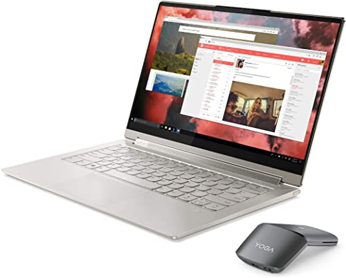 Lenovo Yoga 9i Laptop 35 6 cm 14 Zoll 1920x1080 FHD WideView 400nits Touch Convertible Notebook Intel Core i7 1185G7 16GB RAM 512GB SSD Intel Iris Xe Grafik Win 10 Home champagner