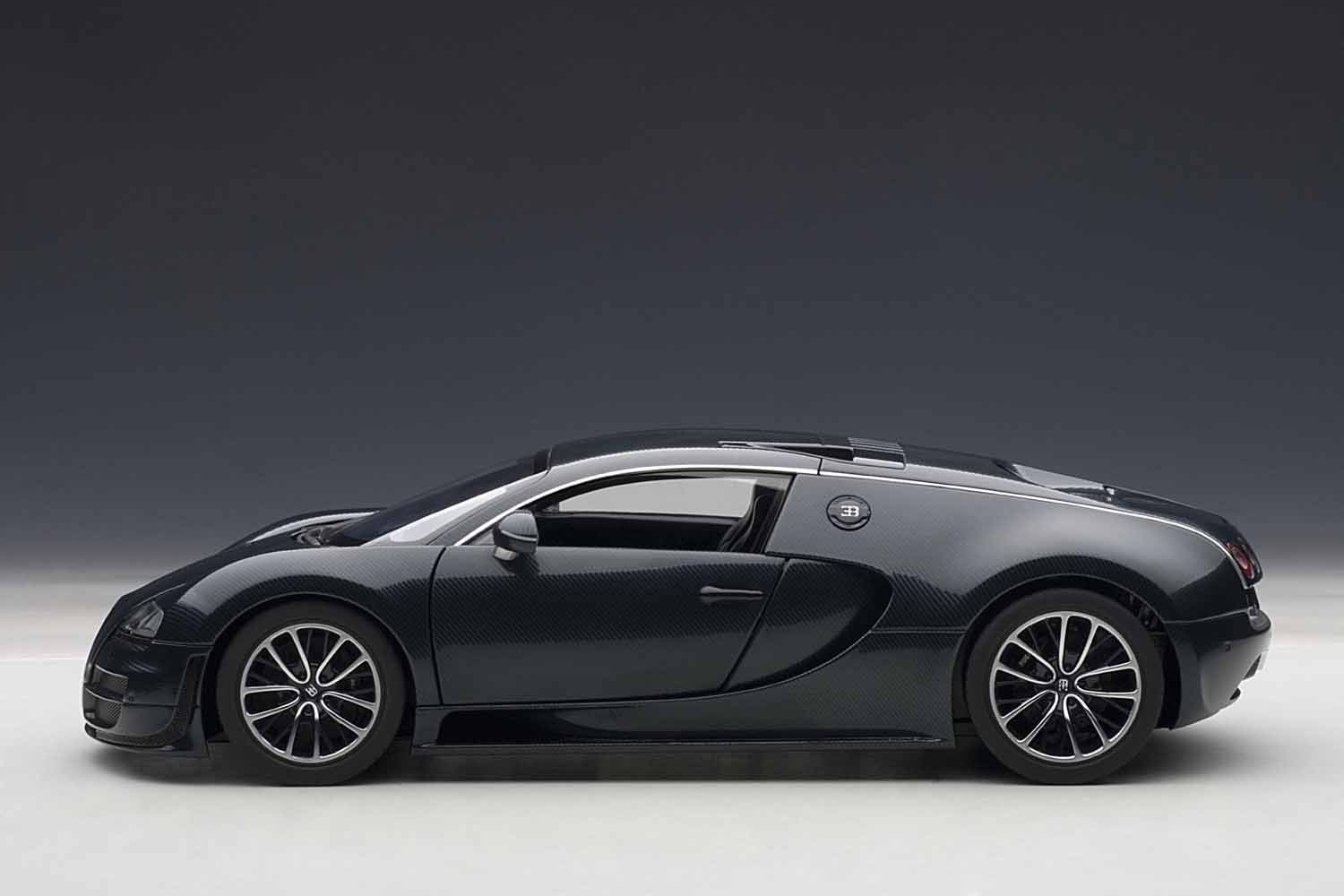 Amazon.com: AUTOart 1/18 Bugatti Veyron Super Sports (Dark Blue): Toys U0026  Games
