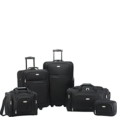 Samsonite Nobscot 5 Piece Luggage Set Black