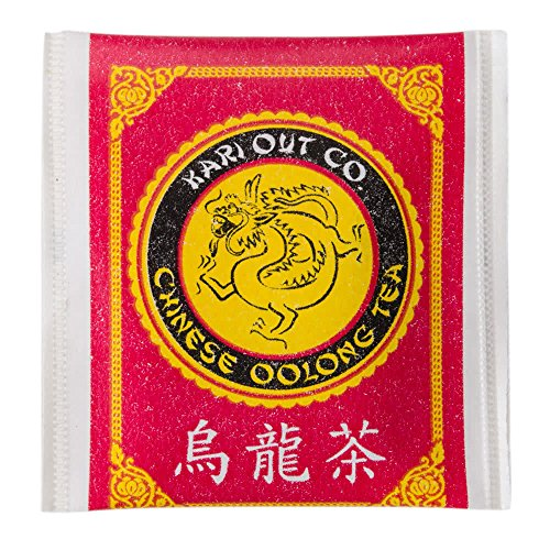 Premium, Full-Flavored Oolong Tea Bags 300 Pack. Traditionally Brewed Caffeinated Drink Helps Brain Functioning. Semi-Fermented and Served at the Best Chinese and Sushi Restaurants.