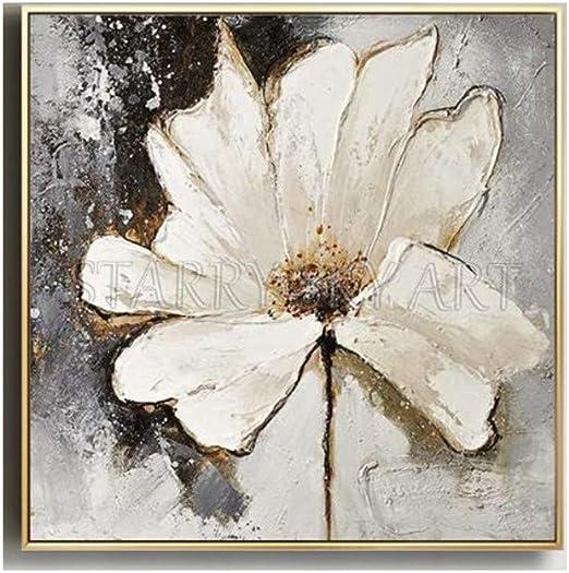 Shfxx Meilleur Peinture à L Huile De Peinture à La Main Lily