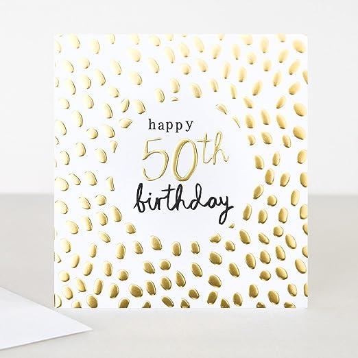 Caroline Gardner - Tarjeta de felicitación de 50 cumpleaños ...