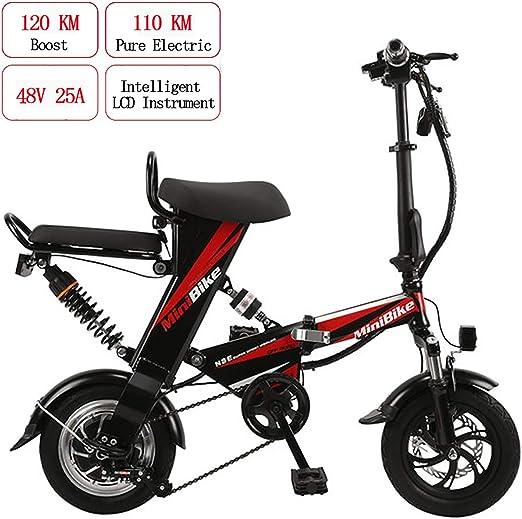 PXQ Plegable Bicicleta eléctrica 12