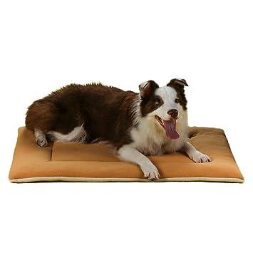 QIAOQI - Cojín de Cama para Perro, colchón para Perro, Suave para Mascotas (Perro o Gato), Resistente, Ligero, Lavable a máquina: Amazon.es: Productos para ...