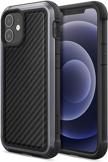 X Doria Raptic Lux Fall Kompatibel Mit Iphone 12 Mini Fall Starke Langlebige Dünne Abdeckung Schlagfestgummi Passt Iphone 12 Mini Schwarze Kohlefaser Elektronik