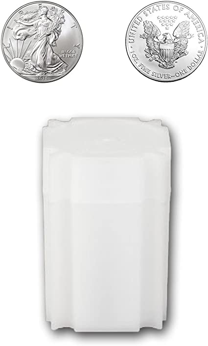 CoinSafe Brand Coin Storage Tube Holders for 1oz Silver Bar Qty 10