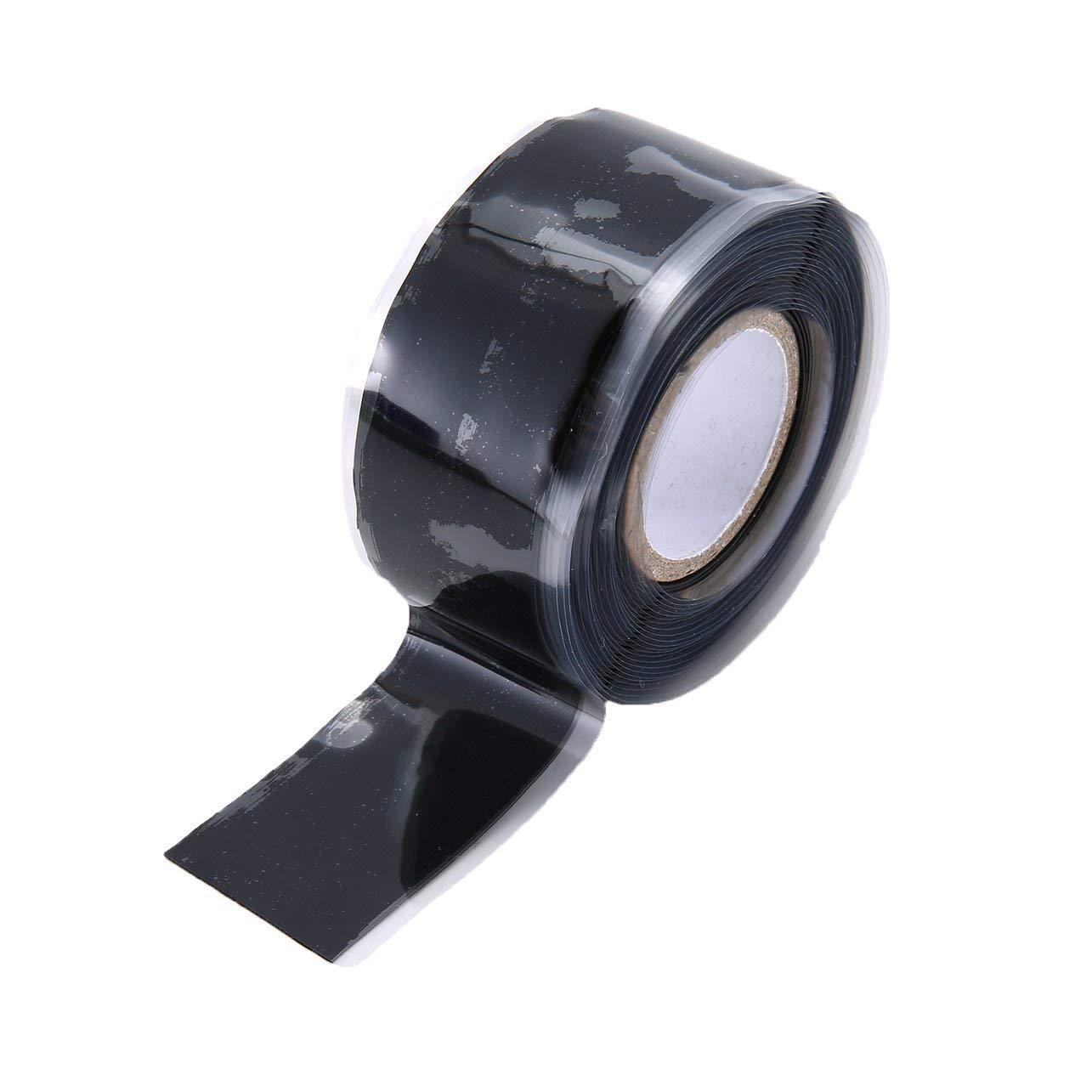 sello silicona alta viscosidad cinta de reparaci/ón herramienta de rescate tubo de agua autoadhesiva cinta de reparaci/ón autoflujo 2.5 * 300 CM Impermeable banda