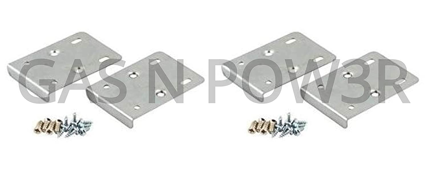 Kitchen Cupboard Door Hinge Repair Kit Includes 10 Plates And Fixing Screws X10 Silver Hardware Door Hardware Locks