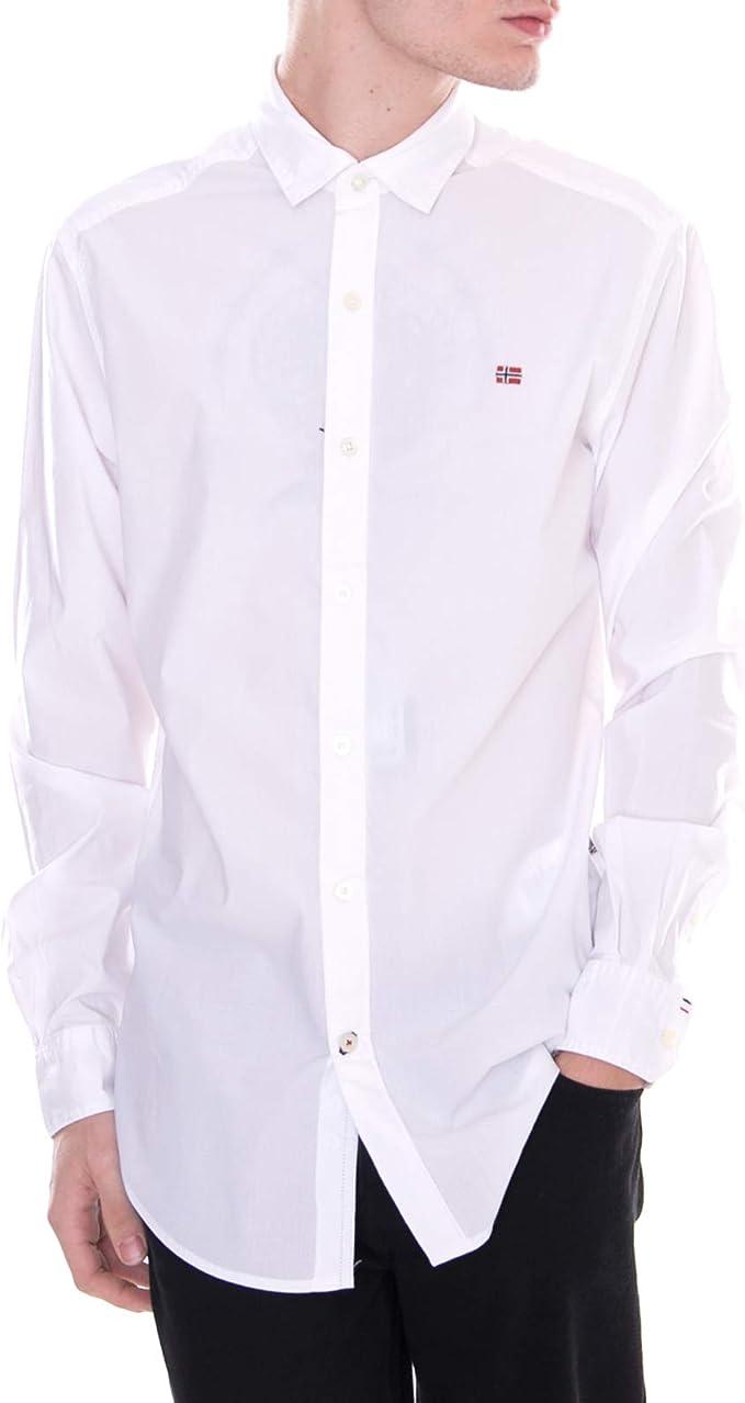 Napapijri - Camisa - Gaman - Blanco (XXXL): Amazon.es: Ropa y accesorios