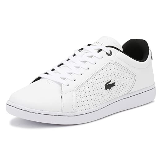 Lacoste Mens White Canarby Evo Sneakers -UK 6