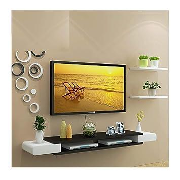 LRZS TV-Schrank Set-Top Box Regal Wohnzimmer TV Wand ...
