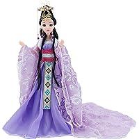 Seta Orientale Vestito in su Figurine Bambola Statua Cinese in Abito Antico per Il Desktop Decor in Camera da Letto
