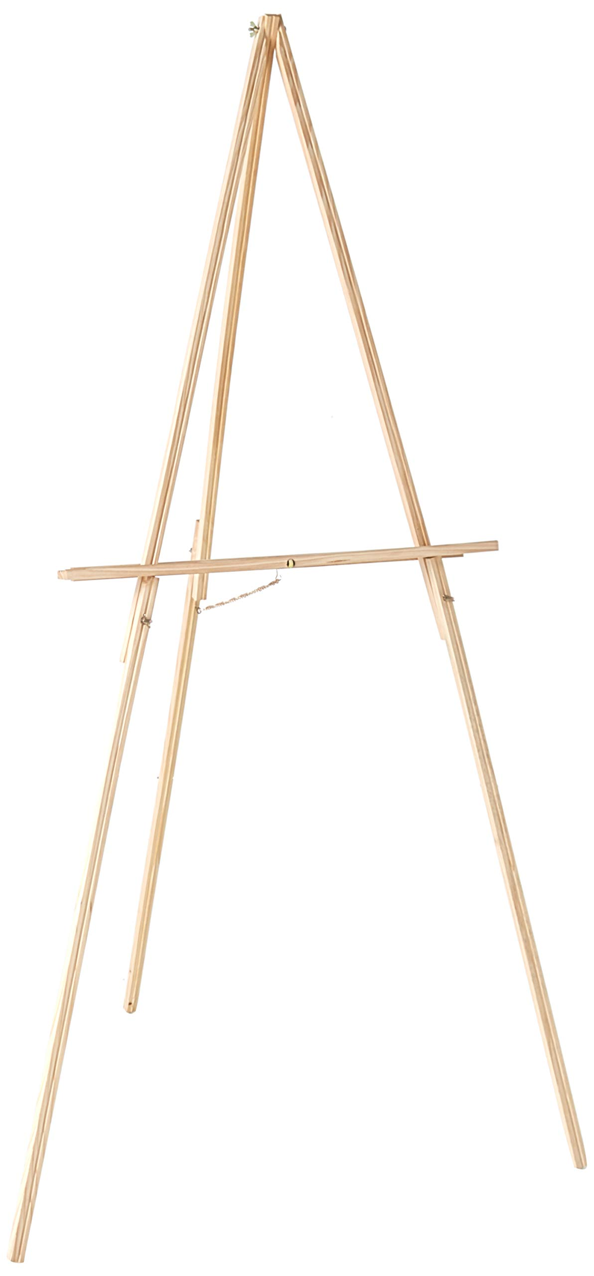 KINGART 735 65'' Floor Natural Wood Easel, by KINGART