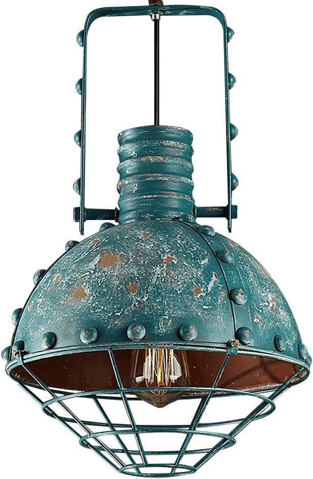 Lámparas de forja industrial del viento ropa retro tienda Cafetería Bar Lámpara Lámpara Personalidad E27: Amazon.es: Iluminación