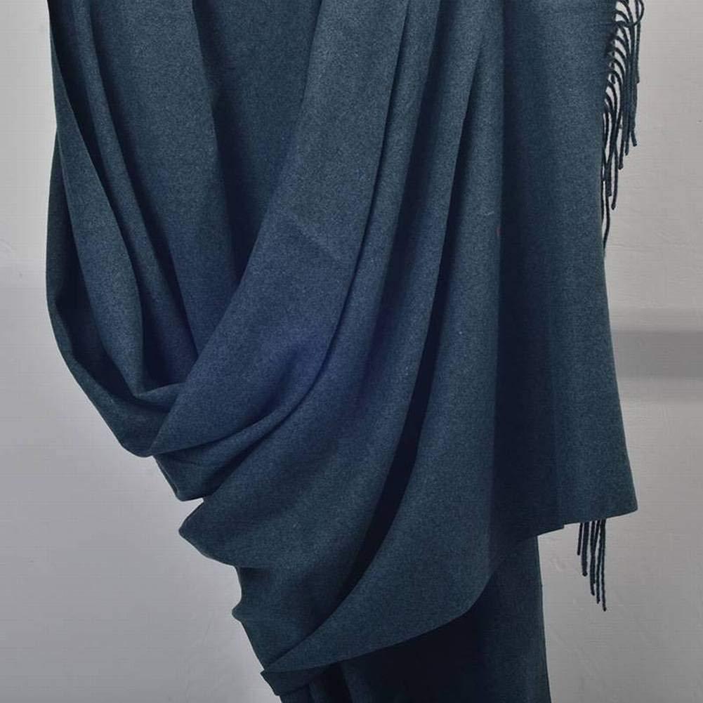 blueee black CATS Unisex Men Women Warm Decoration Pure color Long Autumn Winter Outdoor MultiFunctional Fashion Wild Warm Shawl Scarf Gift