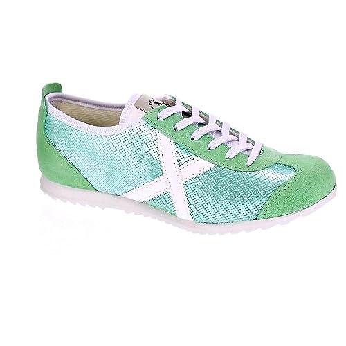 Munich Osaka 26 - Zapatillas Bajas Mujer Verde Talla 40: Amazon.es: Zapatos y complementos