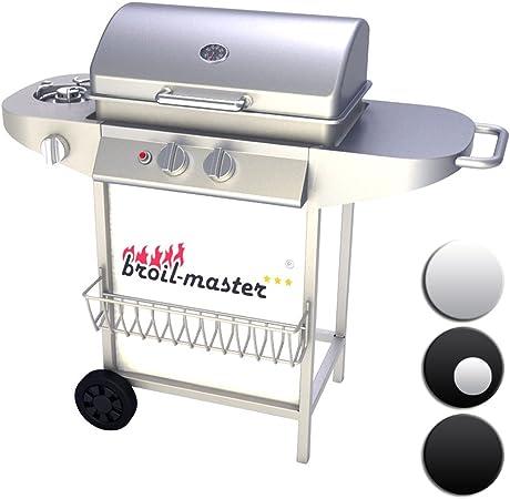 broil master BBQ Barbecue à Gaz en Acier Couvercle avec