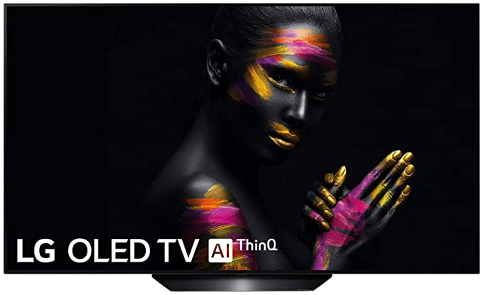 "LG OLED55B9ALEXA - Smart TV OLED 4K UHD de 55"" (Inteligencia Artificial, procesador Inteligente Alpha 7 Gen. 2, Deep Learning, 100% HDR y Dolby Vision/Atmos) Color Negro"
