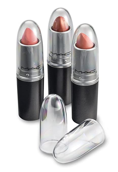 Byalegory Clear Capsules à Lèvres Acryliques Remplace Les Bâtonnets à Lèvres Individuels Mac Voyez Facilement Votre Couleur De Rouge à Lèvres