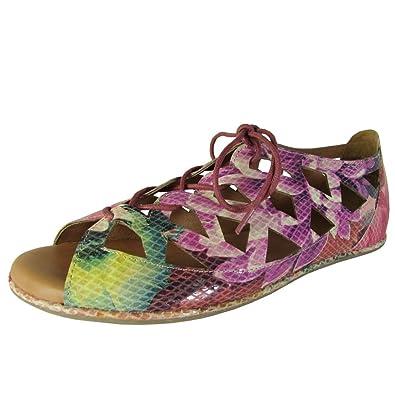 Gentle Souls Betsi Flat Sandal (Women's) d2EV9