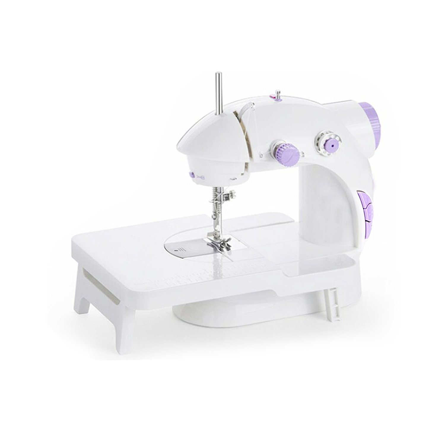 Iboost Portable Sewing Machine with Extension Table, Bobbins, Needles, and Foot Pedal, 2-Speed 141[並行輸入]   B078SYW89H