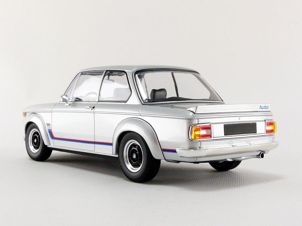 Minichamps 1:18 1973 BMW 2002 Turbo - Plata - 155026201: Amazon.es: Juguetes y juegos