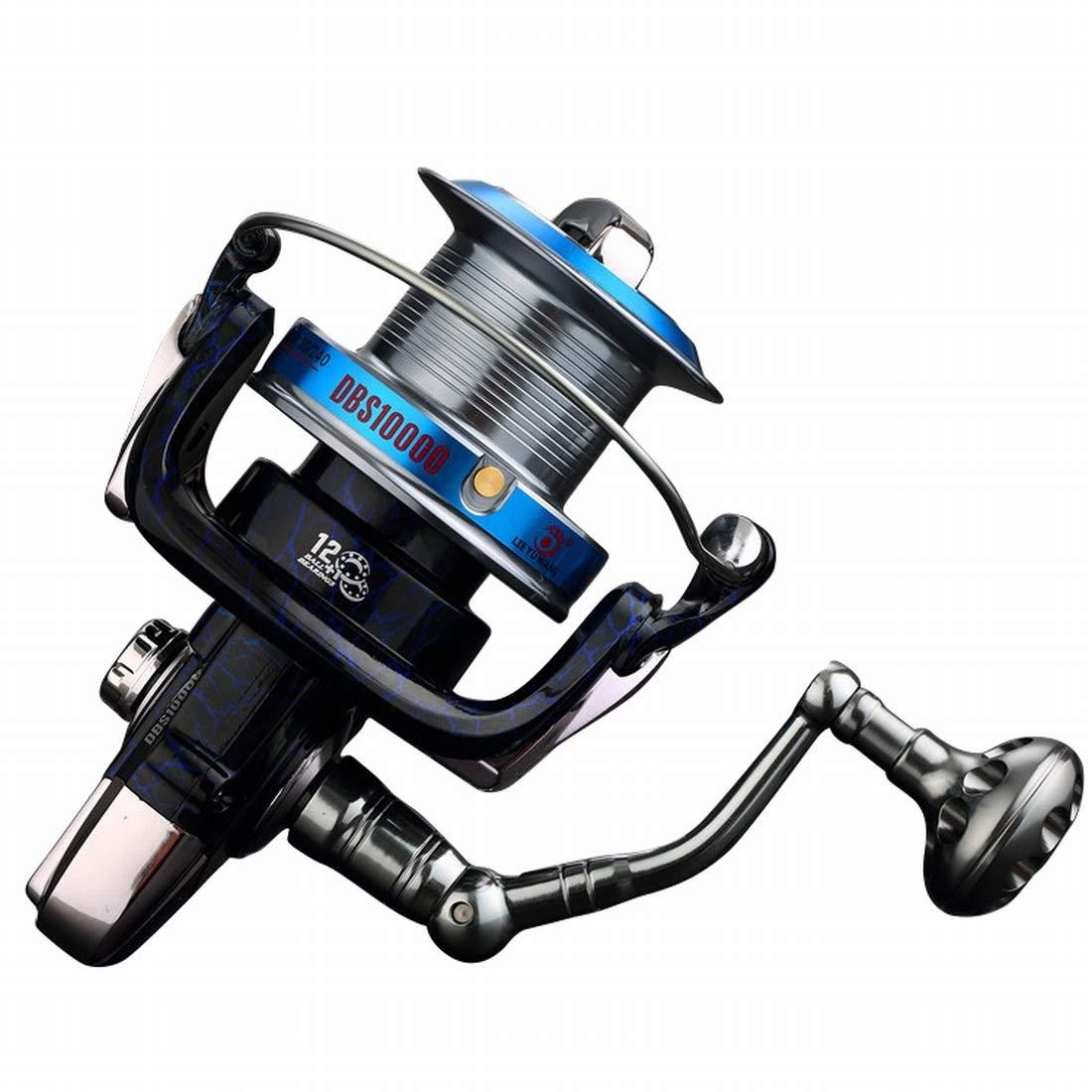 JIANFU 釣りホイールメタルフット座って10000リール釣りリールロングショットホイールアンカーフィッシュホイール釣りイカライン釣りギア (Specification : 10000) 10000  B07PKJRF44