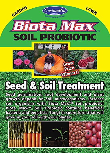 Beneficial Soil - BiotaMax Plant/Soil Probiotic - Beneficial Bacteria and Fungi - ONE Tablet