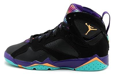 separation shoes 6941d 3de49 Jordan Kids Retro 7 30TH BLACK/COURT PURPLE/LT RETRO/BRIGHT 705417-029 6
