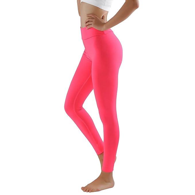 GoVia leggins para damas pantalones deportivos largos para Training Running  Yoga Fitness transpirables con cintura alta ... accfb07ff6c4