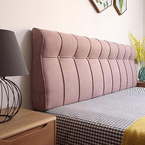 Respaldo cama Cama extraíble suave del bolso del cojín ...
