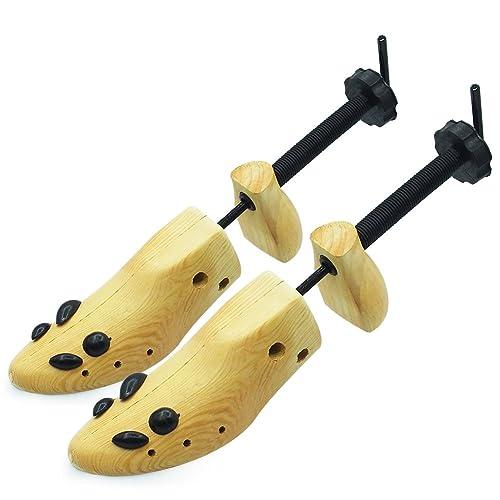 50b1b7850 Wooden Shoe Stretcher Adjustable 2-Way Shoe Trees For Men & Women,Set of